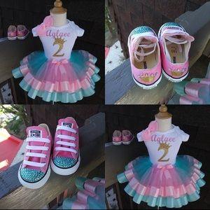 Full Custom Tutu Set with Shoes